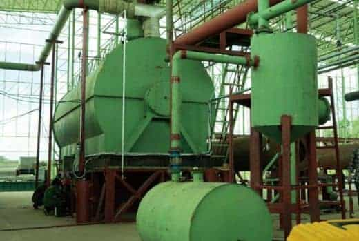 Green Renewable Waste Engine Oil Refining Project